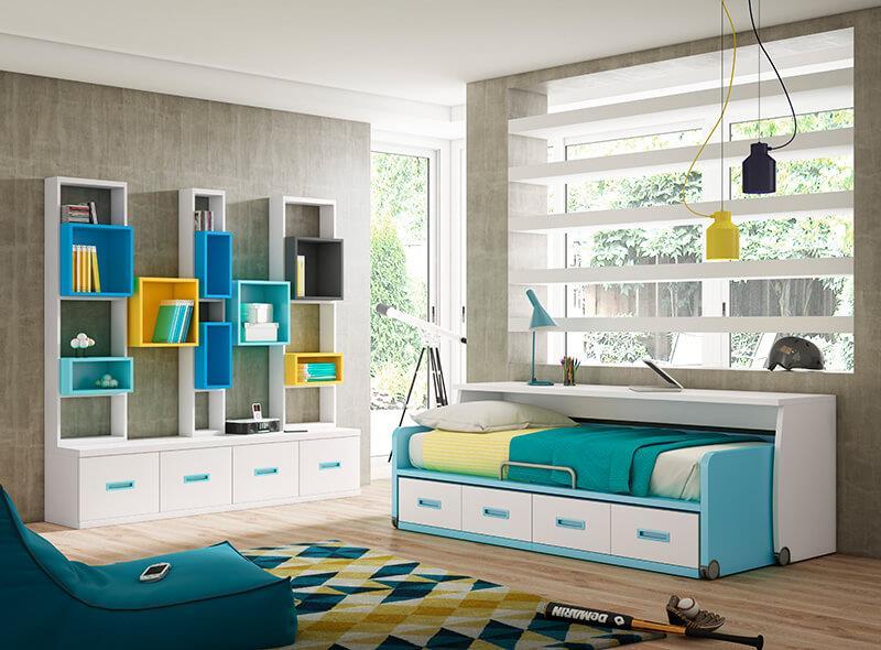 Rea joven muebles y carpinter a gallardo for Dormitorios juveniles modernos precios