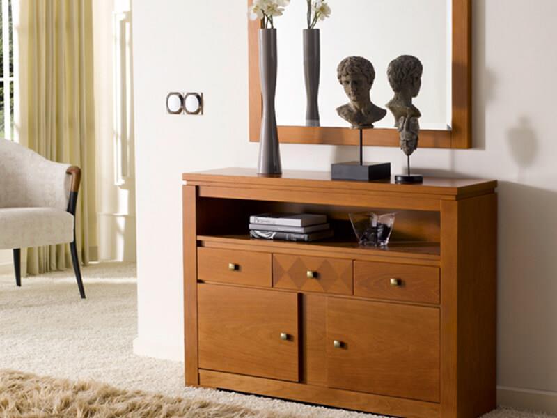 Recibidores muebles y carpinter a gallardo - Muebles auxiliares recibidores ...
